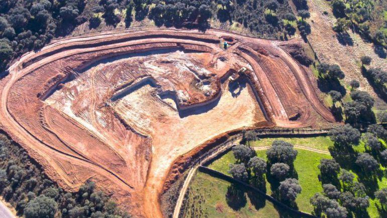 Fotografía de Cadena SER. La mina de uranio del municipio salmantino de Retortillo, envuelta en una enorme polémica